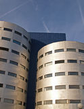 De moderne bouw in Amersfoort stock foto