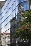 De moderne bouw in Boedapest Stock Foto