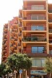 De moderne bouw in Figueres, Spanje Stock Foto