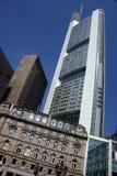 De moderne bouw in Frankfurt Royalty-vrije Stock Afbeeldingen