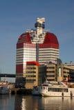 De moderne bouw in Goteborg Royalty-vrije Stock Fotografie