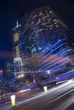 De moderne bouw in Hong Kong Royalty-vrije Stock Fotografie