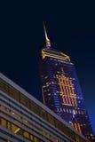 De moderne bouw in Hong Kong Royalty-vrije Stock Foto's