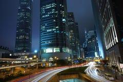 De moderne bouw in Hong Kong Stock Foto