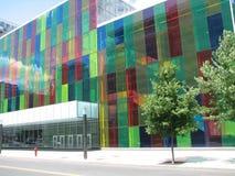 De moderne bouw Montreal stock foto's