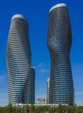 De moderne bouw in Noord-Amerika Royalty-vrije Stock Foto's