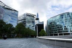 De moderne bouw in de stad van Londen in 19 September 2018 Londen stock afbeelding