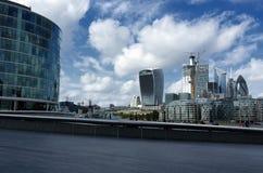 De moderne bouw in de stad van Londen in 19 September 2018 Londen royalty-vrije stock afbeeldingen