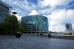 De moderne bouw in de stad van Londen in 19 September 2018 Londen stock foto's