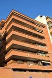 De moderne Bouw in stad van Malaga Stock Fotografie