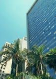 De moderne bouw in Tel Aviv, Israël royalty-vrije stock afbeelding