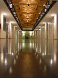 De moderne bouw - Universiteit van Modena e Reggio Emilia Royalty-vrije Stock Fotografie