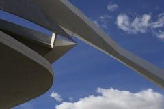 De moderne bouw Valencia Stock Foto's