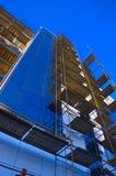De moderne bouw van de voorzijde Stock Foto's