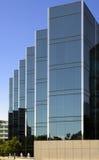 De moderne Bouw van het Bureau in Silicon Valley Stock Afbeeldingen