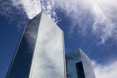 De moderne bouw van het Glas Stock Foto's