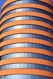 De moderne buis-Vormige bouw Royalty-vrije Stock Afbeeldingen