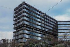 De moderne bureaubouw Stock Afbeelding