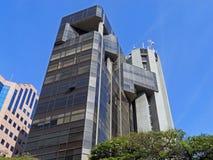 De moderne collectieve bouw Stock Afbeelding