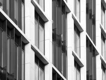 De moderne commerciële bouw royalty-vrije stock fotografie