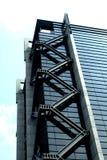 De moderne commerciële bouw Royalty-vrije Stock Afbeeldingen