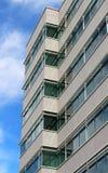 De moderne commerciële bouw Stock Afbeelding