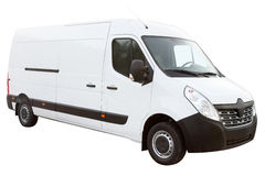 De moderne compacte bestelwagen Stock Afbeeldingen