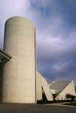 De moderne Concrete Bouw royalty-vrije stock fotografie