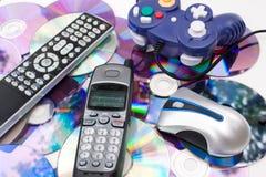 De moderne Controlemechanismen van Media Stock Afbeelding