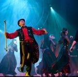 De moderne dans toont: Het Banket van de avond Stock Fotografie