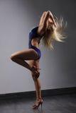 De moderne danser Stock Afbeeldingen
