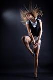 De moderne danser P'nB van de vrouw Royalty-vrije Stock Afbeelding