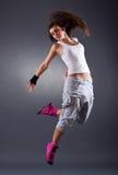 De moderne danser stelt Stock Foto's
