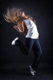 De moderne danser van de vrouw royalty-vrije stock foto