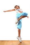 De moderne danser van de vrouw royalty-vrije stock foto's