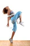 De moderne danser van de vrouw Stock Afbeelding