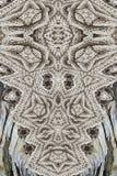 De moderne druk met breit en hout royalty-vrije stock foto's