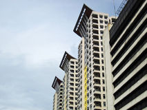 De moderne Flats van de Bouw Royalty-vrije Stock Afbeelding