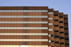 De moderne gebouwen van het Bureau Stock Afbeeldingen