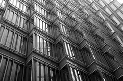 De moderne glasbouw   Royalty-vrije Stock Afbeeldingen