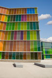 De moderne glasbouw Stock Afbeelding