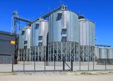 De moderne graanschuur Stock Foto