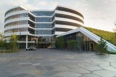 De moderne hoofdkwartierbouw Stock Foto's