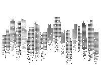 De moderne Horizon van de Stad Vectoreps 10 vector illustratie