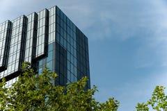 De moderne hotelbouw Royalty-vrije Stock Foto