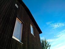De moderne houten bouw Royalty-vrije Stock Foto