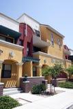 De moderne Huizen van het Flatgebouw met koopflats van Arizona Stock Foto's
