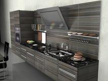 De moderne keuken vector illustratie