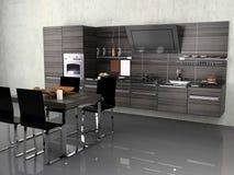 De moderne keuken stock illustratie