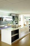 De moderne Keuken van het Ontwerp stock foto's